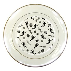 Witches And Pentacles Porcelain Plates by IIPhotographyAndDesigns