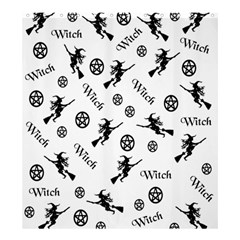 Witches And Pentacles Shower Curtain 66  X 72  (large)  by IIPhotographyAndDesigns