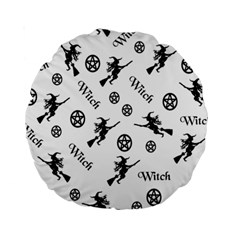 Witches And Pentacles Standard 15  Premium Round Cushions by IIPhotographyAndDesigns