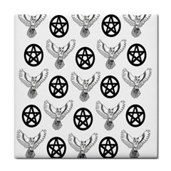 Owls And Pentacles Tile Coasters by IIPhotographyAndDesigns