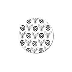Owls And Pentacles Golf Ball Marker (10 Pack) by IIPhotographyAndDesigns
