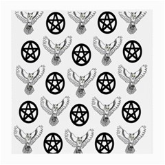 Owls And Pentacles Medium Glasses Cloth by IIPhotographyAndDesigns