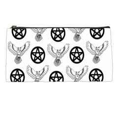 Owls And Pentacles Pencil Cases by IIPhotographyAndDesigns