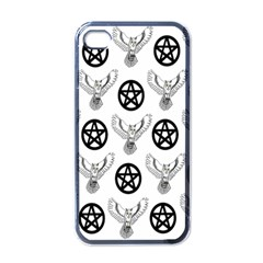 Owls And Pentacles Apple Iphone 4 Case (black) by IIPhotographyAndDesigns
