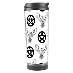 Owls And Pentacles Travel Tumbler by IIPhotographyAndDesigns