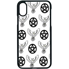 Owls And Pentacles Apple Iphone X Seamless Case (black) by IIPhotographyAndDesigns