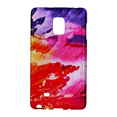 Red Purple Paint                               Samsung Galaxy Note 4 Leather Folio by LalyLauraFLM