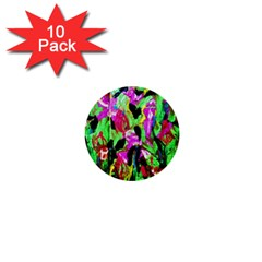 Spring Ornaments 2 1  Mini Buttons (10 Pack)  by bestdesignintheworld