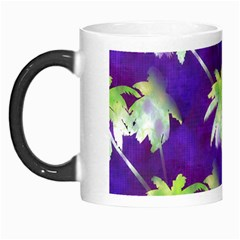 Palm Trees Hot Summer Nights Morph Mugs by CrypticFragmentsColors
