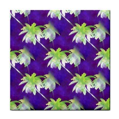 Palm Trees Hot Summer Nights Face Towel by CrypticFragmentsColors