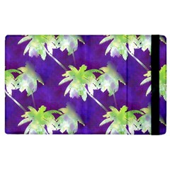 Palm Trees Hot Summer Nights Apple Ipad 2 Flip Case by CrypticFragmentsColors