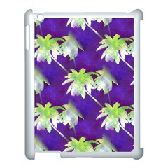 Palm Trees Hot Summer Nights Apple Ipad 3/4 Case (white) by CrypticFragmentsColors