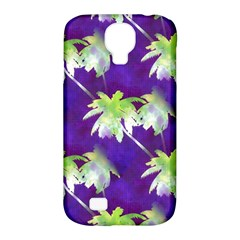 Palm Trees Hot Summer Nights Samsung Galaxy S4 Classic Hardshell Case (pc+silicone) by CrypticFragmentsColors