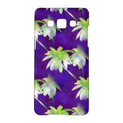 Palm Trees Hot Summer Nights Samsung Galaxy A5 Hardshell Case  by CrypticFragmentsColors
