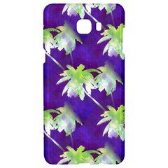 Palm Trees Hot Summer Nights Samsung C9 Pro Hardshell Case  by CrypticFragmentsColors