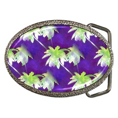 Palm Trees Hot Summer Nights Belt Buckles by CrypticFragmentsColors