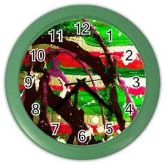 Easter 2 Color Wall Clock by bestdesignintheworld