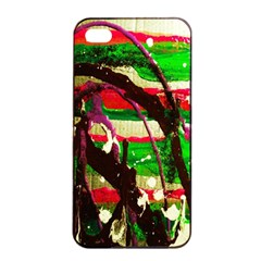 Easter 2 Apple Iphone 4/4s Seamless Case (black) by bestdesignintheworld
