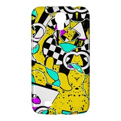Shapes On A Yellow Background                                   Sony Xperia Sp (m35h) Hardshell Case by LalyLauraFLM