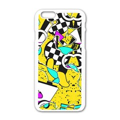 Shapes On A Yellow Background                                   Motorola Moto E Hardshell Case by LalyLauraFLM