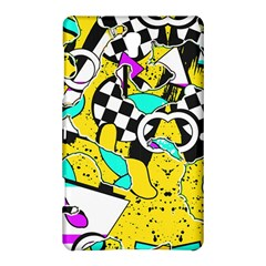 Shapes On A Yellow Background                                   Samsung Galaxy Tab S (8 4 ) Hardshell Case by LalyLauraFLM