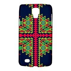 Distorted Shapes On A Blue Background                                 Samsung Galaxy Ace 3 S7272 Hardshell Case by LalyLauraFLM