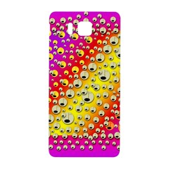 Festive Music Tribute In Rainbows Samsung Galaxy Alpha Hardshell Back Case by pepitasart