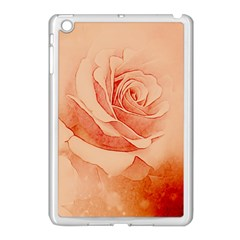 Wonderful Rose In Soft Colors Apple Ipad Mini Case (white) by FantasyWorld7