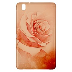 Wonderful Rose In Soft Colors Samsung Galaxy Tab Pro 8 4 Hardshell Case by FantasyWorld7