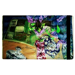 Lilac On A Countertop 2 Apple Ipad 2 Flip Case by bestdesignintheworld