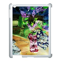 Lilac On A Countertop 2 Apple Ipad 3/4 Case (white) by bestdesignintheworld