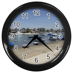 Balboa 3 Wall Clock (black) by bestdesignintheworld