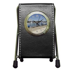 Balboa 3 Pen Holder Desk Clock by bestdesignintheworld