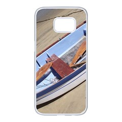 Balboa 4 Samsung Galaxy S7 Edge White Seamless Case by bestdesignintheworld