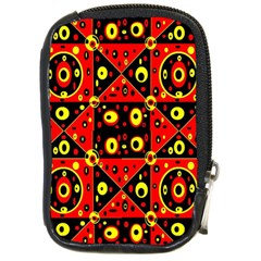 Red Black Yellow 2 Compact Camera Cases by ArtworkByPatrick1
