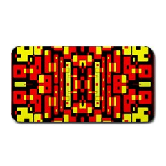 Red Black Yellow 4 Medium Bar Mats by ArtworkByPatrick1