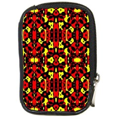 Red Black Yellow 5 Compact Camera Cases by ArtworkByPatrick1