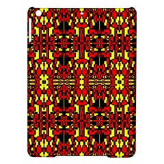 Red Black Yellow 8 Ipad Air Hardshell Cases by ArtworkByPatrick1