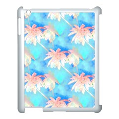 Palm Trees Summer Afternoon Apple Ipad 3/4 Case (white) by CrypticFragmentsColors