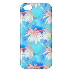 Palm Trees Summer Afternoon Iphone 5s/ Se Premium Hardshell Case by CrypticFragmentsColors