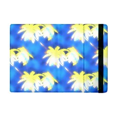 Palm Trees Bright Blue Green Ipad Mini 2 Flip Cases by CrypticFragmentsColors