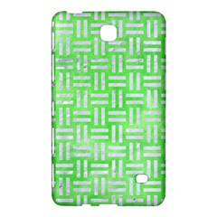 Woven1 White Marble & Green Watercolor Samsung Galaxy Tab 4 (8 ) Hardshell Case  by trendistuff