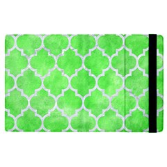 Tile1 White Marble & Green Watercolor Ipad Mini 4 by trendistuff