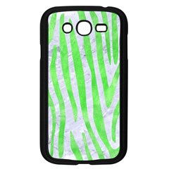 Skin4 White Marble & Green Watercolor Samsung Galaxy Grand Duos I9082 Case (black) by trendistuff
