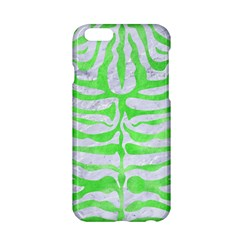 Skin2 White Marble & Green Watercolor (r) Apple Iphone 6/6s Hardshell Case by trendistuff