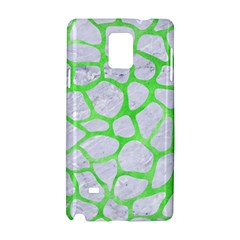 Skin1 White Marble & Green Watercolor Samsung Galaxy Note 4 Hardshell Case by trendistuff
