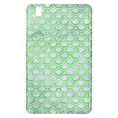 Scales2 White Marble & Green Watercolor (r) Samsung Galaxy Tab Pro 8 4 Hardshell Case by trendistuff