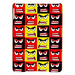 Angry Face Ipad Air Hardshell Cases by ArtworkByPatrick1