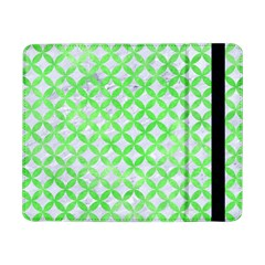 Circles3 White Marble & Green Watercolor (r) Samsung Galaxy Tab Pro 8 4  Flip Case by trendistuff
