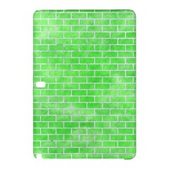 Brick1 White Marble & Green Watercolor Samsung Galaxy Tab Pro 12 2 Hardshell Case by trendistuff